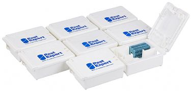 Mouse Bait Boxes for Mouse Poison Blocks (Pack of 8)